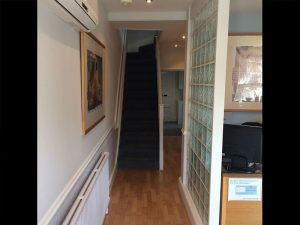 Inside the hallway