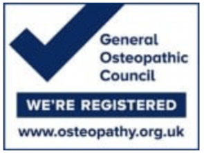 Genereal Osteopathic Council Registered